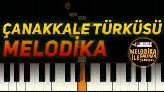 Çanakkale Türküsü | Melodika Notaları 🎵 (Melodika Ile Çalınan Şarkılar #9 )