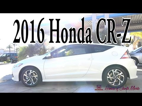 2016 Honda CR-Z EX CVT Review