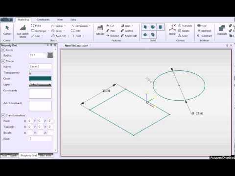 NaroCAD » Dimension and Measur...