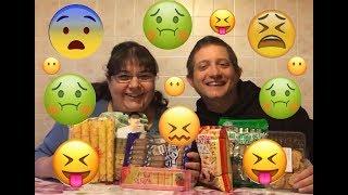 Riproviamo strani snack Cinesi !!!