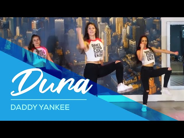 Dura - Daddy Yankee - Easy Fitness Dance Video - Choreography #durachallenge