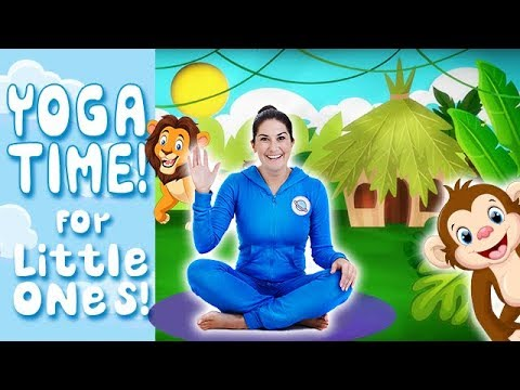 Relaxation Yoga For Kids Zoo Animals