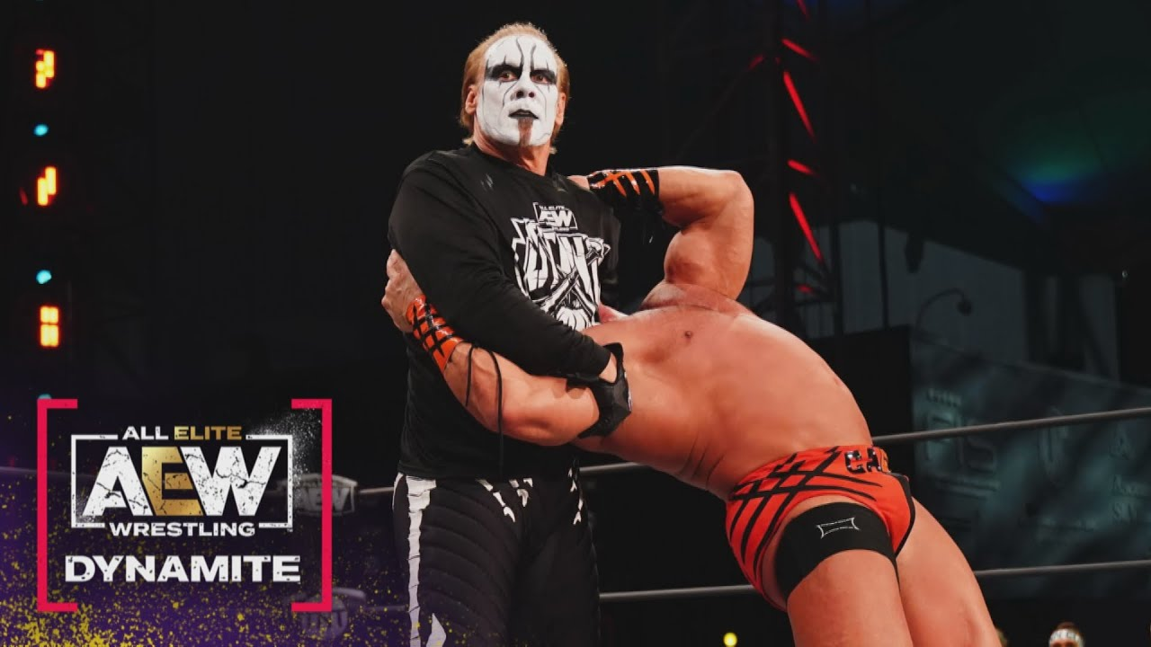 Video: Sting Gets Revenge On Brian Cage, Hits Scorpion Death Drop On AEW Dynamite