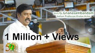 Vellalar Educational Trust |Estd 1969|50th Golden Jubilee|Thiru Gnanasambandam|Wow Studioz