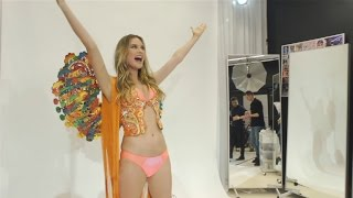 Watch Behati Prinsloo Find Out She's Opening the Victoria's Secret Fashion Show