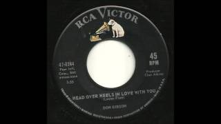 Don Gibson - Head Over Heals In Love With You