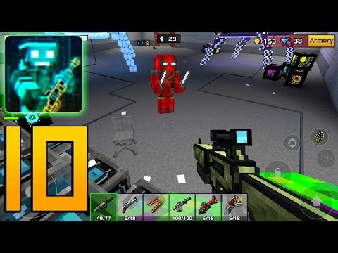 Pixel Gun 3D - Gameplay Walkthrough Part 10 - Campaign World 1