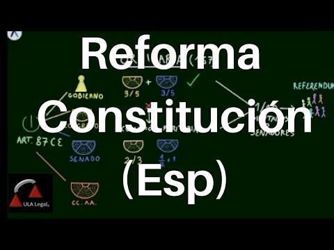 Diskurs zur Reform der Verfassung in Spanien