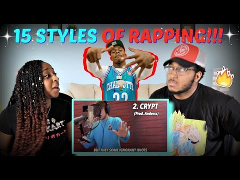 """Quadeca """"15 Styles of Rapping! (ft. Dababy, Lil Nas X, NLE Choppa, Lil Tecca)"""" REACTION!!!"""