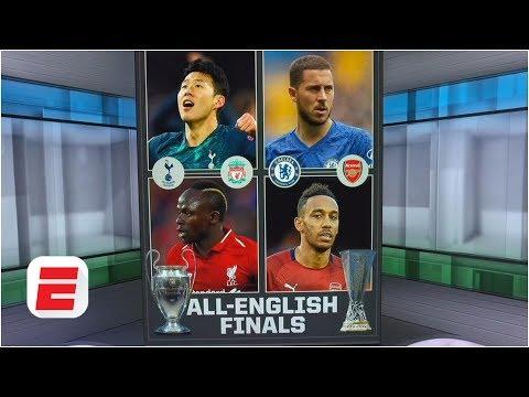 Liverpool vs. Spurs & Chelsea vs. Arsenal: Do the all-English finals hurt football? | Europa League