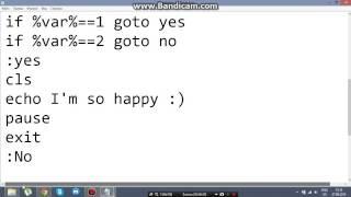 Как создать программу в блокноте (Часть I)
