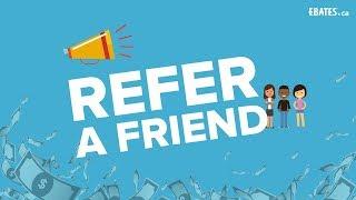 How to Earn Cash Back: Refer a Friend on Ebates! (Desktop & Mobile)