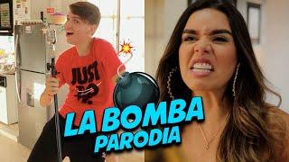 La Bomba - Azul Azul  Parodia    Ft. Diego Cadena, Ashley Ordoñes, Eljossef