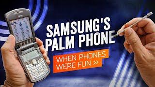 When Phones Were Fun: Samsung's i500 PalmOS Phone (2003)