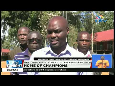 IAAF's fets Iten town as a global heritage location