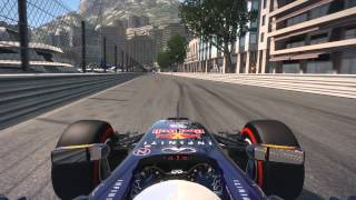 F1 2014 Monaco Hot Lap Red Bull TT All Assist Off