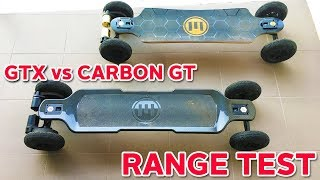 GT Vs GTX Range Test