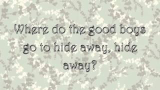 Hide Away   Daya (Lyrics)