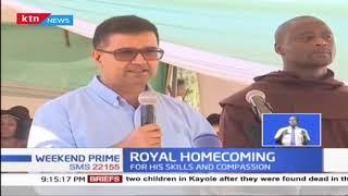 Nakuru town was in celebration as residents welcomed World Best Teacher