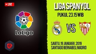 Jadwal Pertandingan dan Cara Live Streaming Real Madrid Vs Sevilla di HP via MAXStream beIN Sport