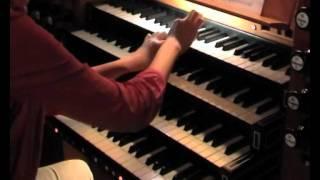 "Zsigmond Szathmáry:  ""BACH"". Mari Ohki an der großen Orgel von St. Jakobi, Lübeck"