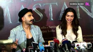 UNCUT | Ranveer Singh and Deepika Padukone at the Gajanana song launch for Bajirao Mastani!
