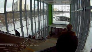 МЦК вход на станцию Балтийская и поездка до Коптево