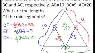 Special Triangle Segments I (Midsegments)