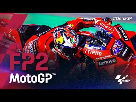 MotoGP 2021 第2戦ドーハGP FP2のラスト5分のタイムアタック動画