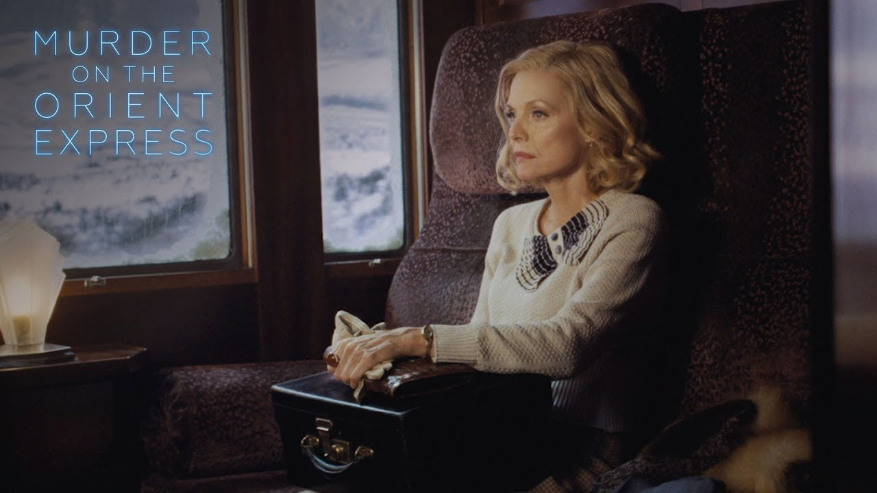 "Murder on the Orient Express - ""Never Forget"" Performed by Michelle Pfeiffer 
