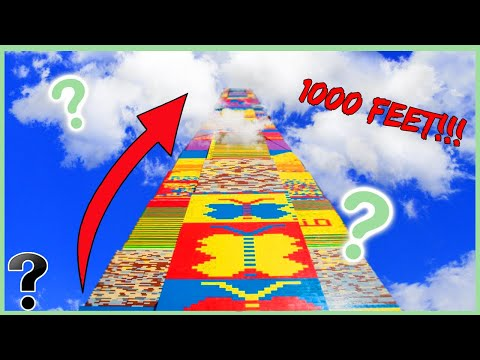 How Tall Can a LEGO Tower Get? - Life's Biggest Questions
