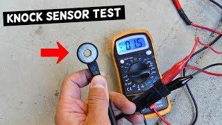 HOW TO TEST KNOCK SENSOR