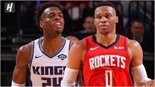 Sacramento Kings vs Houston Rockets - Full Game Highlights   December 9, 2019   2019-20 NBA Season