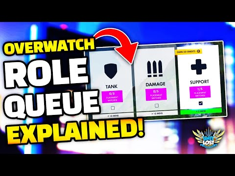 Overwatch Role Queue EXPLAINED! - Role Based SR!