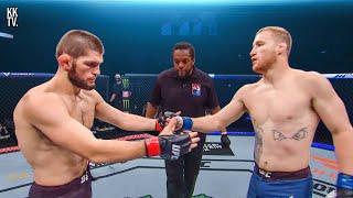 🇷🇺🔥Khabib Nurmagomedov vs Justin Gaethje 🔥🇺🇸 | UFC 254: Full Fight-Breakdown & Prediction