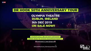 Dr Hook 50th Anniversary Tour | Dublin 🇮🇪 2019 | On Sale Now! 🙌