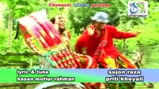 Sono Rikshawala । Sujon Raja | Priti Kheyali । Bangla New Folk Song