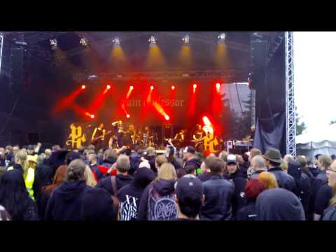 Pain Confessor @ Nummirock 2013 (Grief fan footage)
