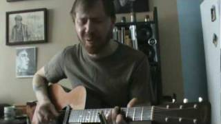 "Sean Pinchin perform's ""Living with the law"" by Chris Whitley"