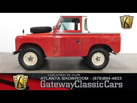 1966 Land Rover Series IIA for Sale - CC-1015906