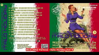 Various - Italo Holiday Vol. 9 (Promo Mix-Italo Disco 2018)