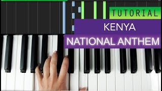 National Anthem Of Kenya Piano Tutorial