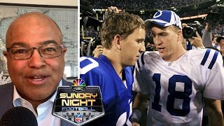 Peyton & Eli reflect on 'The Manning Bowl' (FULL INTERVIEW) | Football Week in America | NBC Sports