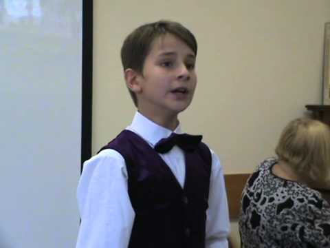 "Алексей Шадрунов поёт романс ""Шагане ты моя, Шагане..."""