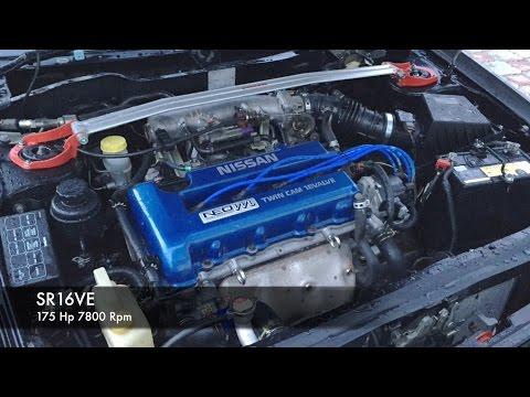 Фото к видео: Nissan Pulsar N14 SR16VE (acceleration 0-100)