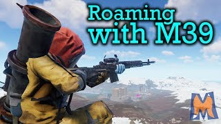 ROAMING WITH THE M39 | Rust Duo survival gameplay