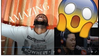"Marcelito Pomoy sings ""The Prayer"" (Celine Dion/Andrea Bocelli) LIVE on Wish 107.5 Bus ~ REACTION"