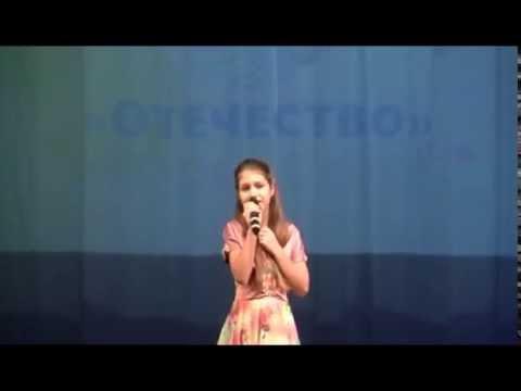 """Песня о войне """"Ковыли"""". Паюрова Даша, 10 лет"""
