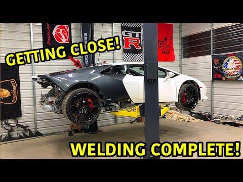 Download Rebuilding A Wrecked Lamborghini Huracan Part 11 HD Mp4 3GP Video and MP3