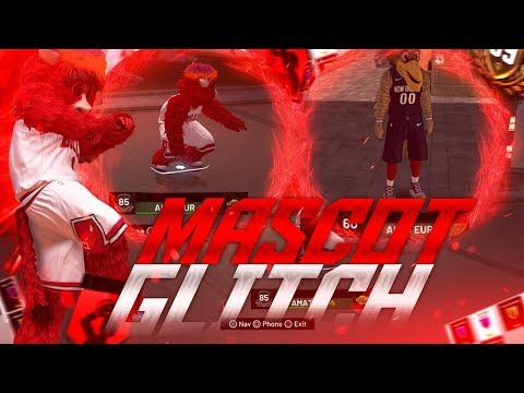 NEW* NBA 2K19 MASCOT, CLOTHES, & ANIMATION GLITCH / FULL IN